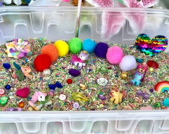 My Little Pony Sensory Bin Set, * Bin included