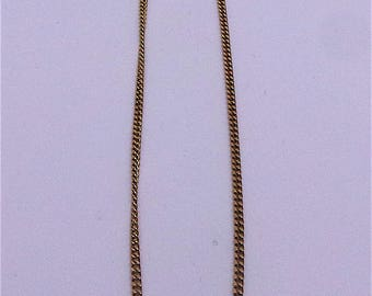 Necklace in 9 carat gold