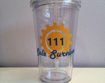 Vault 111 Sole Survivor Travel Cup