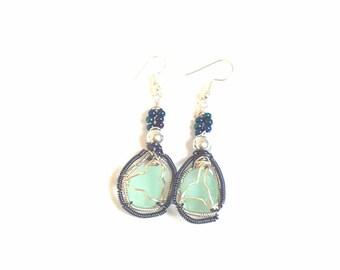 Genuine Irish Seaglass Earrings
