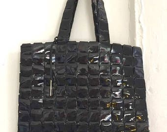 2DAY11%OFFSALE STUNNING vintage Gucci patent leather handbag made in Italy