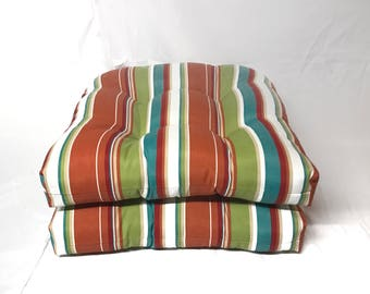 2 Pack of U-Chair Cushions Water Resistant
