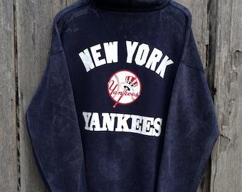 Vintage!! Rare 1992 new york yankees Spells Out Big Logo Sweatshirt/hoodies