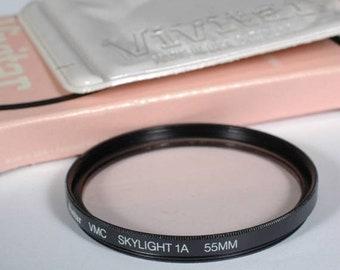 Vivitar 55mm Skylight (1A) Camera Lens Filter