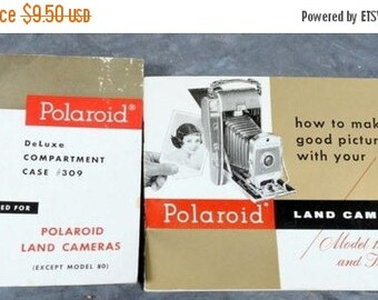 Polaroid Land Camera Instruction Owners MANUAL for Model 150 / 800 booklet