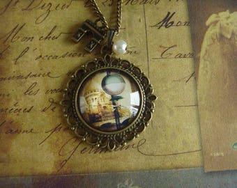 vintage paris necklace