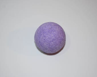 Purple Lavender Bath Bomb | Relax | Homemade | Night Time | Flower Scents | Bath Time | Lavender | Relaxation | Night Time | Bath Bombs
