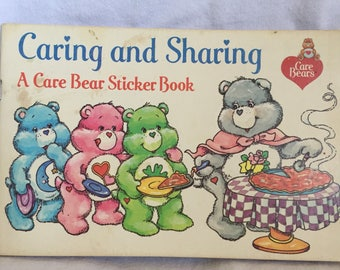 1984 Caring and Sharing, Random House sticker book.