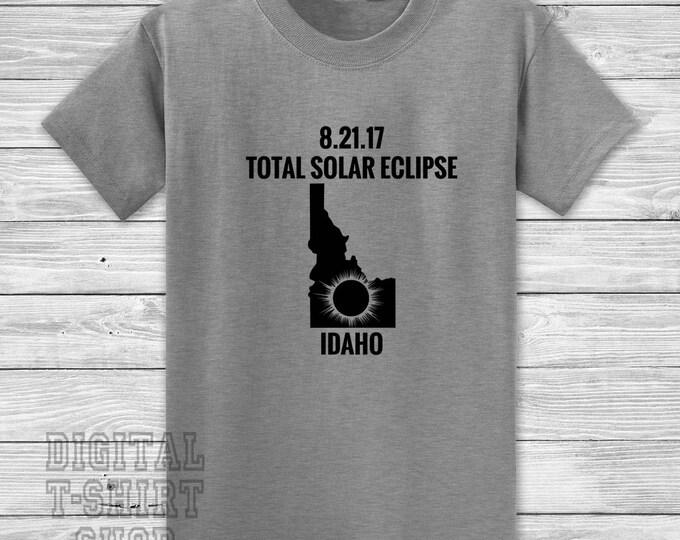 8.21.17 Total Solar Eclipse Idaho T-shirt
