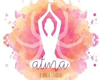 Yoga Business Logo Design, Yoga Logo, Infinity Logo Design, Divine Logo, Unique Logo Design, Ooak Logo, Boutique Logo, Corporate Logo