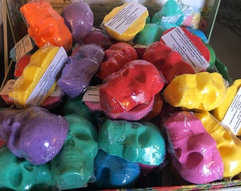 Mini Skull Handmade Bath Bombs