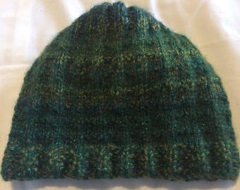 Sparkly Green winter hat