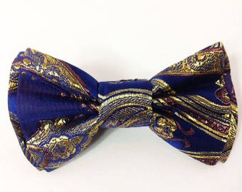 Mens Bow Tie, Formal Bow Tie, Suit Bowtie, Brocade Bow Tie, Prom Bow Tie, Wedding Bow Tie, Mens Fashion Accessories, Mens Bowtie DS757