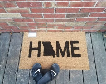 HOME DOORMAT -- Pick your State