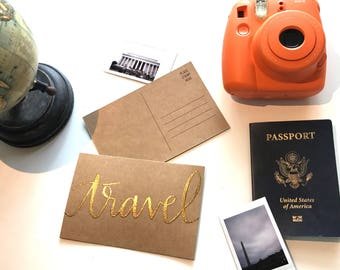 Postcard - Travel Set of 5