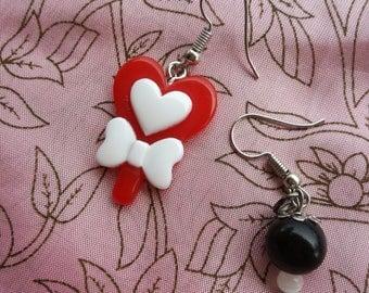 Orecchini lecca-lecca handmade - Handmade lollipop earrings