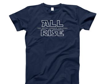 ALL RISE For Aaron Judge Yankees Tee Bronx Bomber