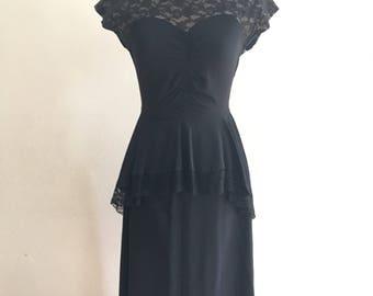 1940 dress Rayon
