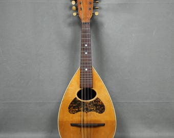 Early 1900's Bowl Back Mandolin