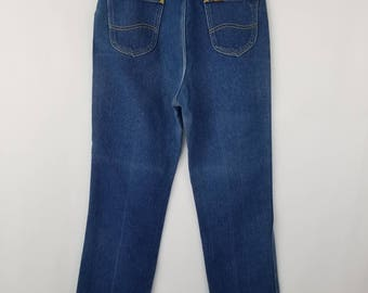 Amazing Vintage  LEE Super High Waisted, Mom Jeans//Women's waist size 27 28
