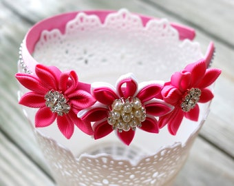 Kanzashi Flower Headband