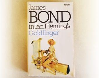 Ian Fleming - Goldfinger - James Bond - Panther vintage paperback book - 1978
