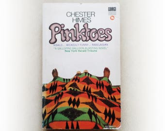 Chester Himes - Pinktoes - crime vintage paperback book - 1965