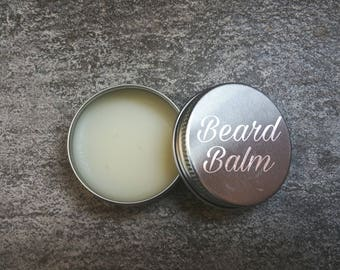 BEELZEBOSS  Beardbalm  by Bloody Bishop - beeswax sweet almond oil vitamine E rum and more
