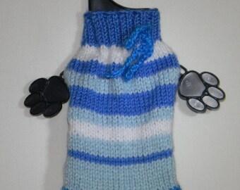 chihuahua puppy sweater, handmade