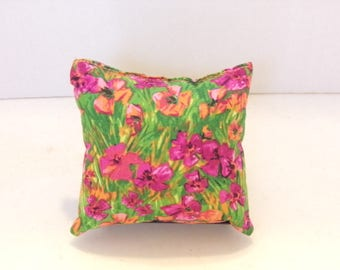 Watercolor Mini Pillow