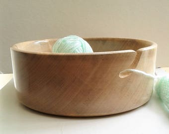 Spalted Sycamore Yarn Bowl E157