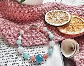 Beautiful ladies bracelet for happy motherhood, magnetic clasp