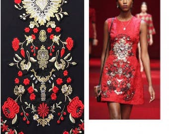 Set of embroidery patches Dolce&Gabbana