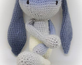 Rabbit crochet amigurumi, home decor child
