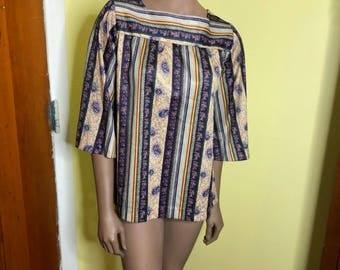 Vintage Boho 70's shirt