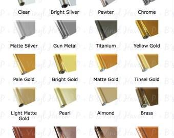 Textile Foil/Premium Textile Thermo HTV with Siser EasyWeed Adhesive/Foil Heat Transfer Vinyl (Iron-On)/Heat Press/HTV Vinyl/Shirt Vinyl