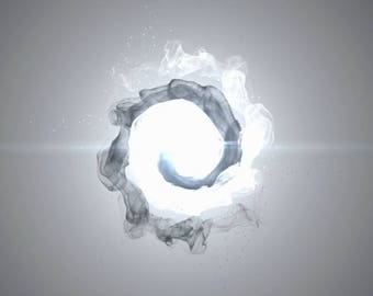 Yin yang logo, End screen video intro or outro