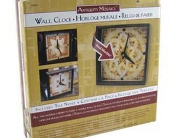 Antiquity Mosaic Wall Clock
