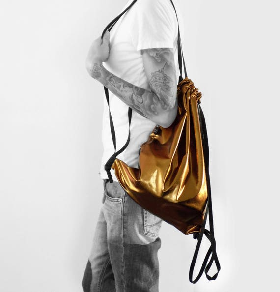 CAONIS Bag backpack gymbag copper metalic
