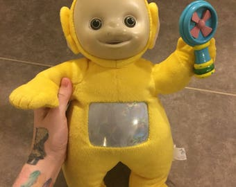 Vintage teletubbies talking and singing lala