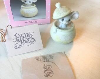 Vintage Precious Moments 1987 Members Only Figurine Hi Sugar BC-871