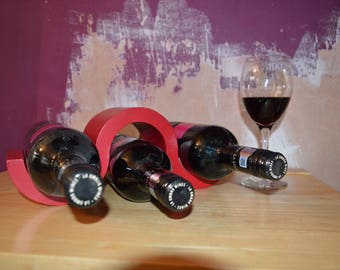 3 Bottle Wine Rack
