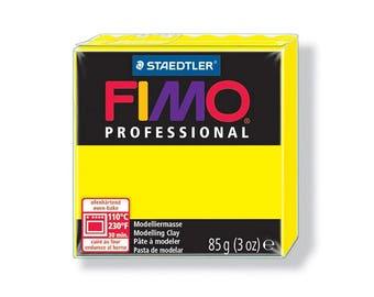 Polymer clay Fimo Pro 85 g - lemon no. 1