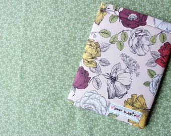 Mini Vintage Rose Book Sleeve