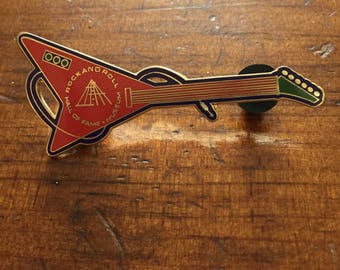 Rock and Roll Hall of Fame Pin