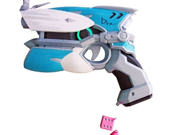 D.Va light gun pistol Cruiser Skin prop from Overwatch. With LED's
