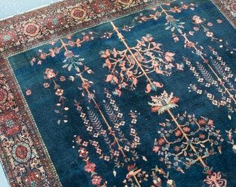 persian rug/farahan sarouk/fereghan sarouk/blue sarouks/rare rugs/fine persian rugs/antique rugs/blue persian rug/antique persian rug/rugs