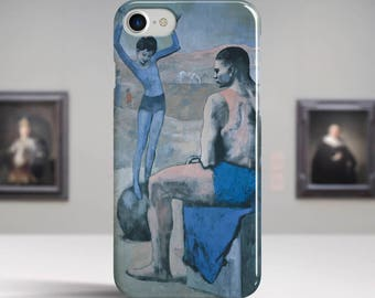 "Pablo Picasso, ""Girl on the Ball"". iPhone 8 Case Art iPhone 7 Case iPhone 6 Plus Case and more. iPhone 8 TOUGH cases. Art iphone cases."