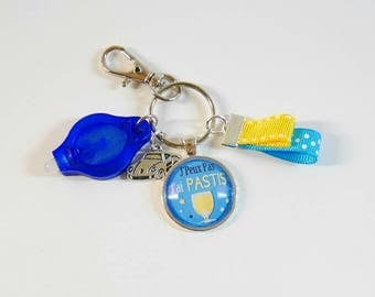 Keychain I can't I pastis