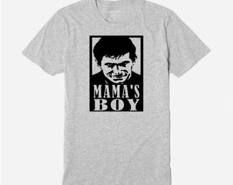 Psycho Norman Bates Mama's Boy Motel Alfred Hitchcock T Shirt Clothes Many Sizes Colors Custom Horror Halloween Merch Massacre